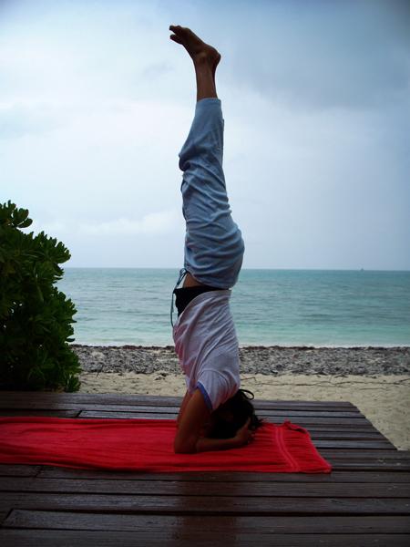 Amanda - Yoga instructor web